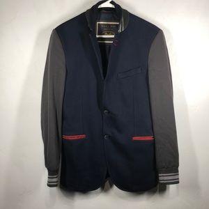Zara Man Denim Couture blue sports jacket size 40
